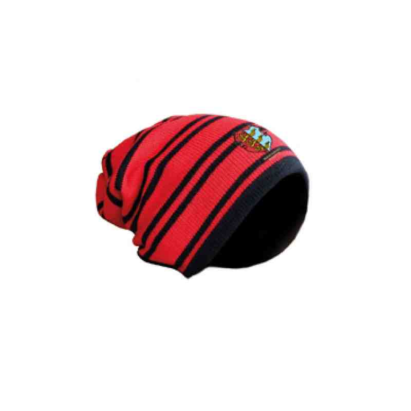 Red/Black Beanie Hat
