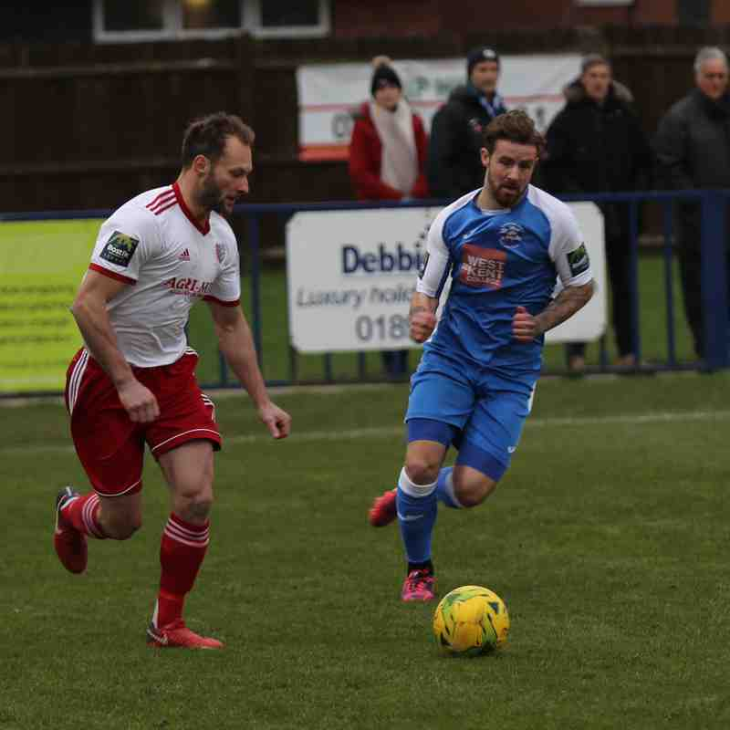 Tonbridge Angels v Brightlingsea Regent 05/01/2019