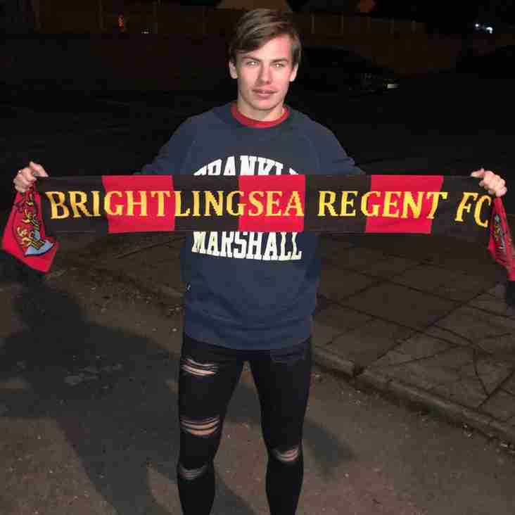 Reuben Mudd signs as Regent make double signing