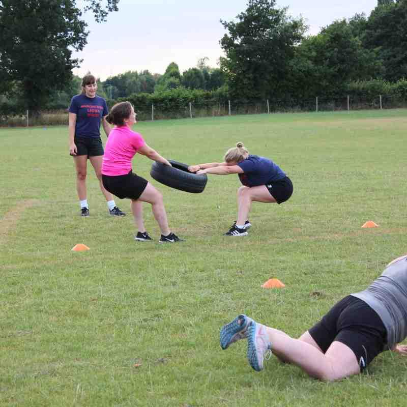 Ladies Pre-Season Training