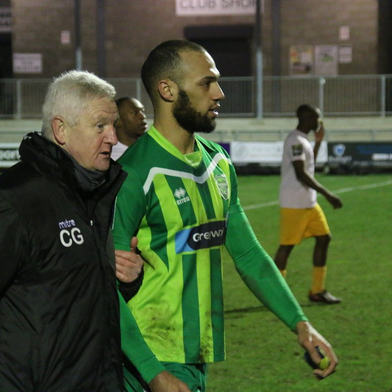 Thamesmead Town Vs Whyteleafe 06.01.2018