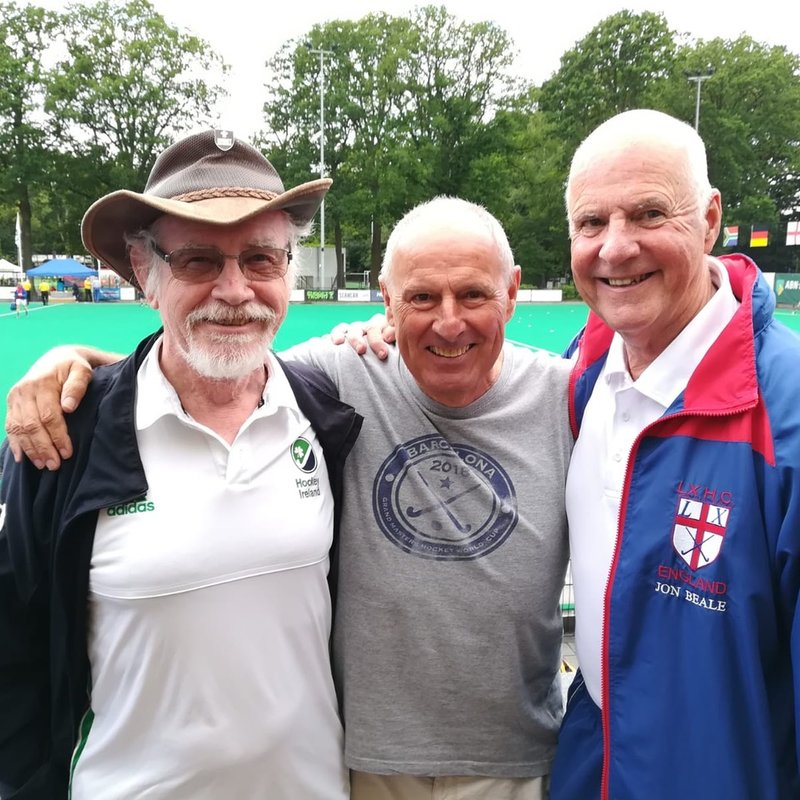 Woking Pitts players represent England and Ireland...