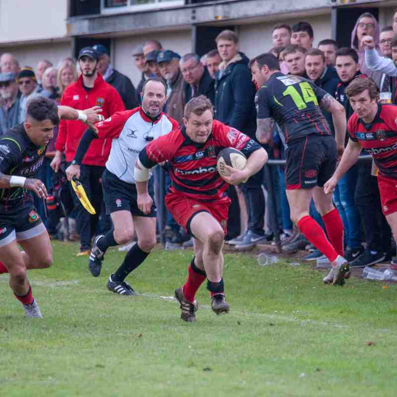 Staying up! Old Redcliffians vs Redruth (28th April 2018)