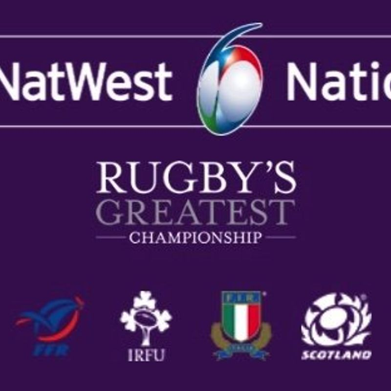 TELEVISED 6 Nations Rugby starting Fri 1st Feb...