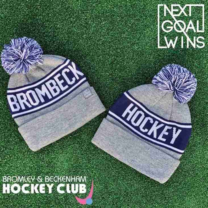 BromBeck Bobble Hats
