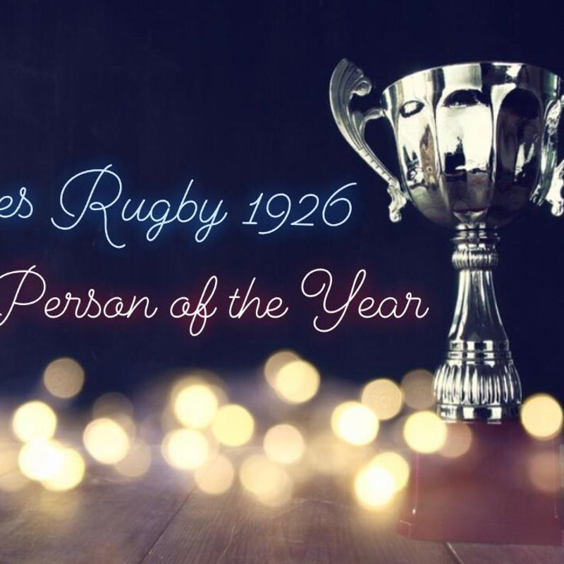 Club Person of the Year