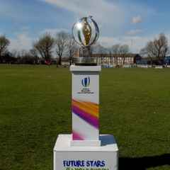 RWC U20s Trophy Comes to Bury RUFC