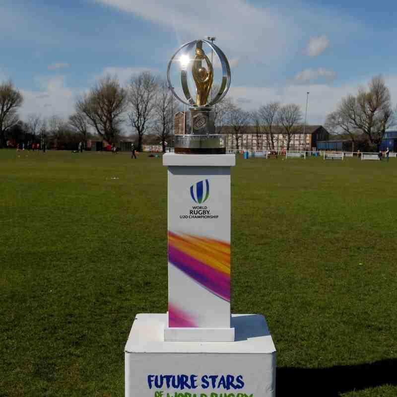 RWC U20s Trophy Comes to Bury RUFC