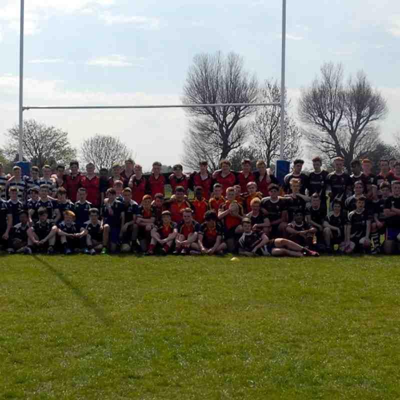 Inaugural U16s Rugby 10s Tournament at Bury RUFC