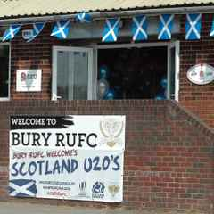 Bury Welcomes Scotland U20s