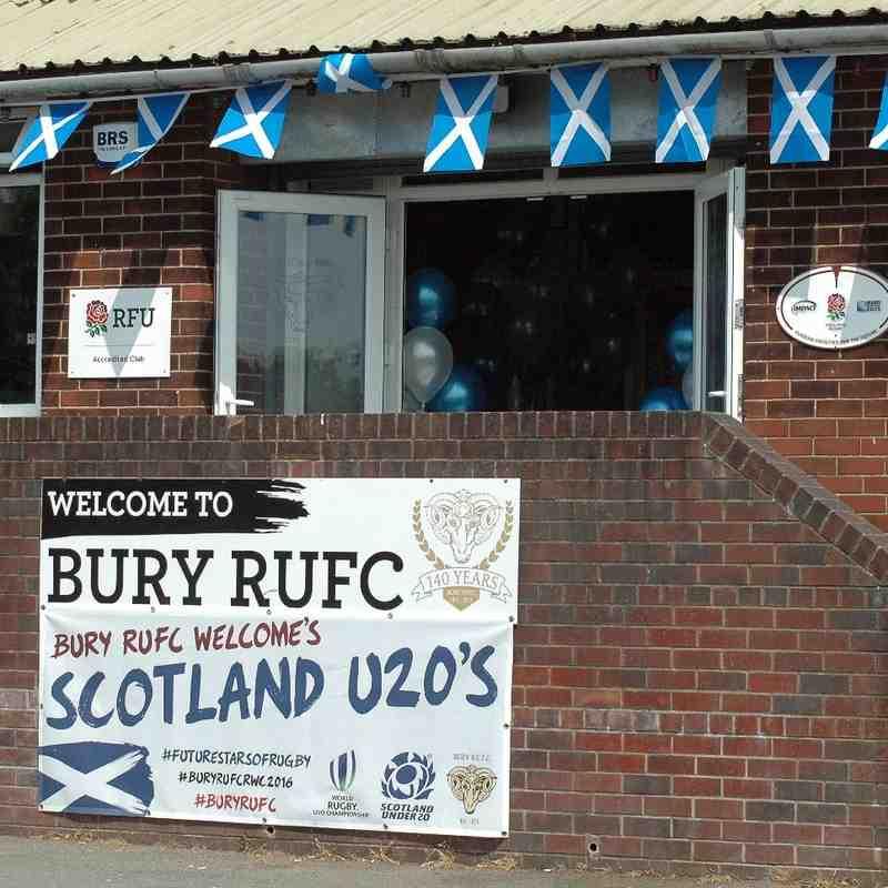 Bury Welcomes Scotland U20s