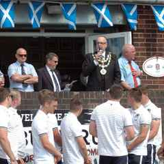 Mayoral Visit - Welcome Ceremony for Scotland Under 20s Squad