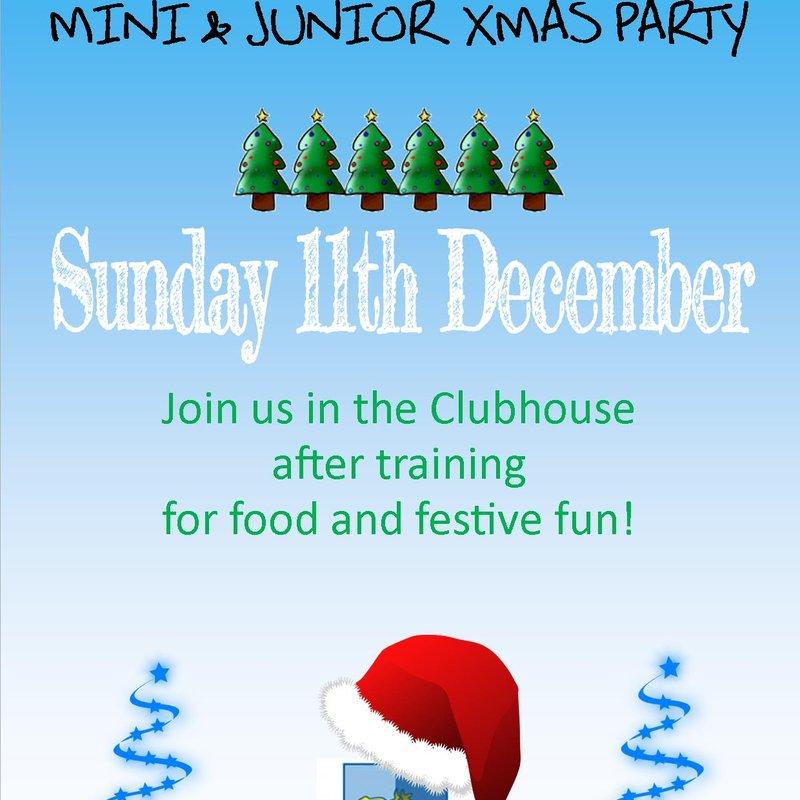 Mini & Junior Section Christmas Brunch