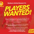 Banbury United Women - Players Wanted