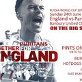 England v Panama - On Big Screen in Clubhouse 24th June