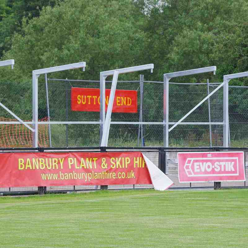 Photos -  Kings Sutton End Supporters' Shelter - Day One