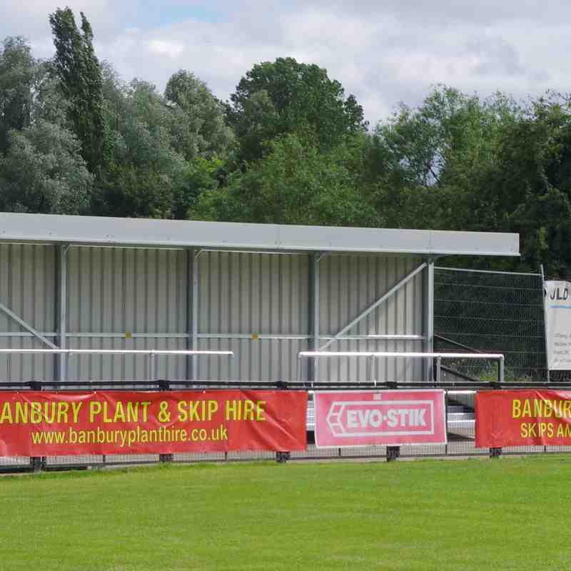 Photos -  Kings Sutton End Supporters' Shelter - Completed