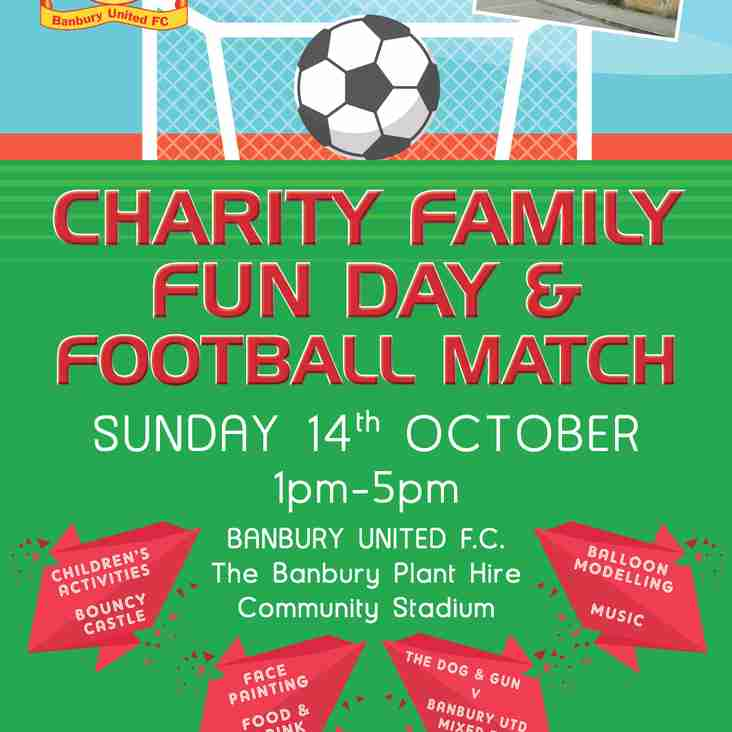 Charity Family Funday & Football Match Cancelled