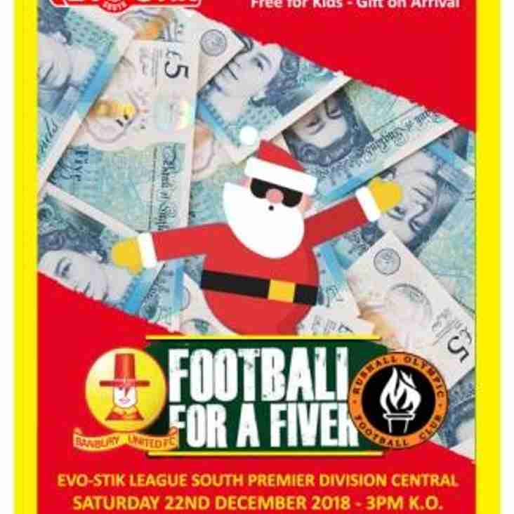 Footy for a Fiver Saturday