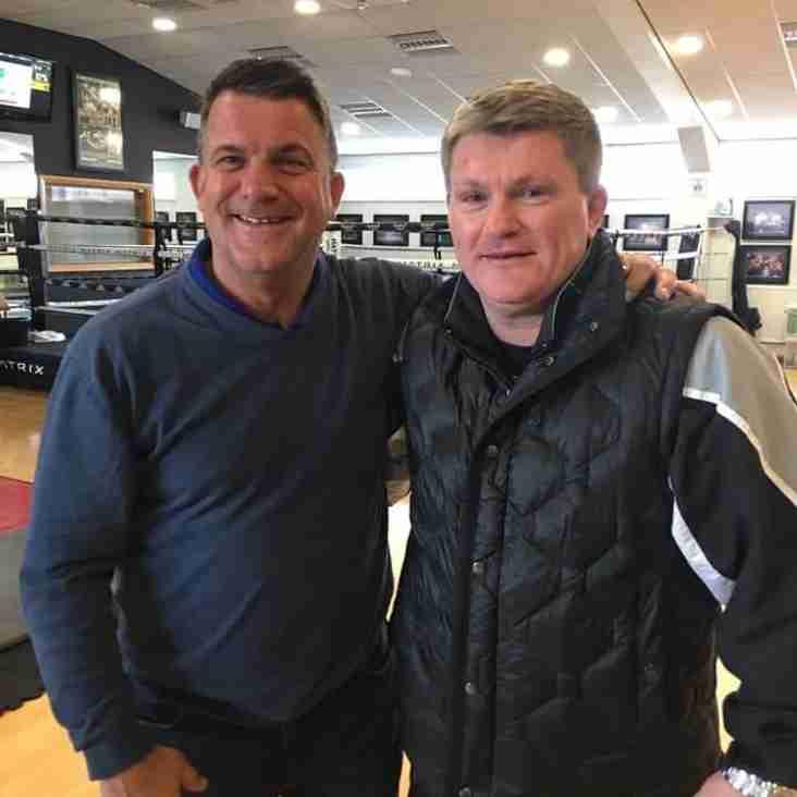 "Ricky ""Hitman"" Hatton heads to Banbury United"