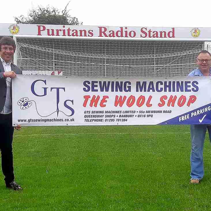 GTS Sewing Machines sponsor the club