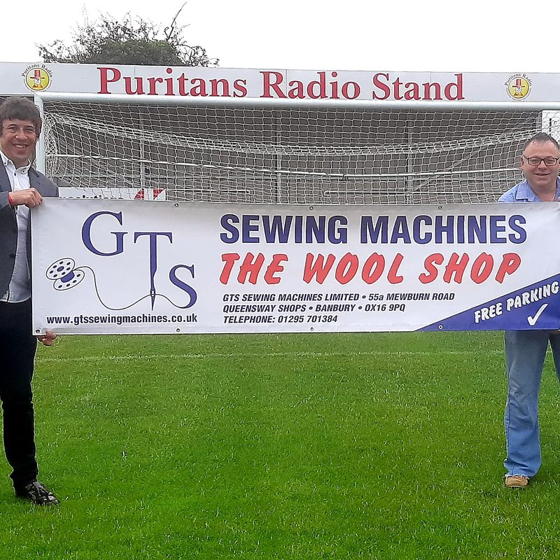 GTS Sewing Machines sponsor the club