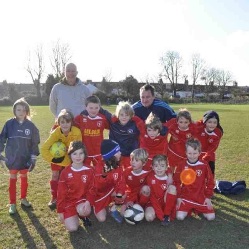 Hawks Youth Under 9's v Old Varndeanians - Match 1