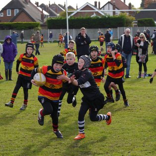 U10's show their metal