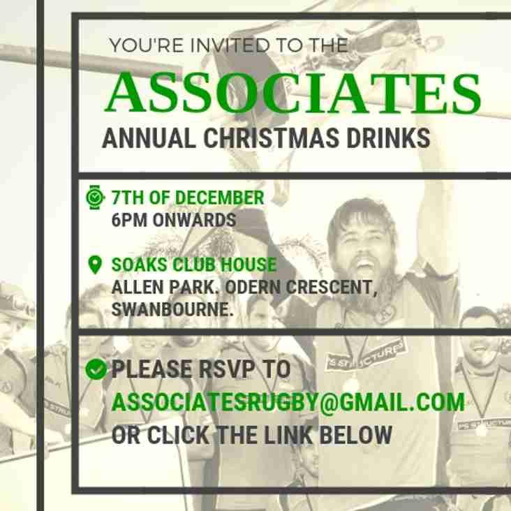 2018 Associates Annual Christmas Drinks