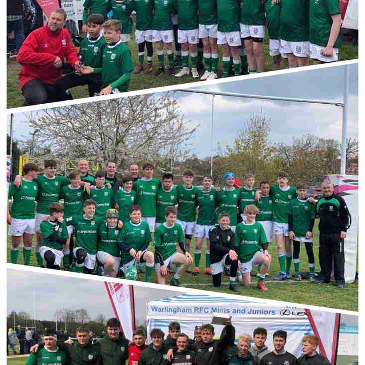 Success all round for London Irish Youth Rugby