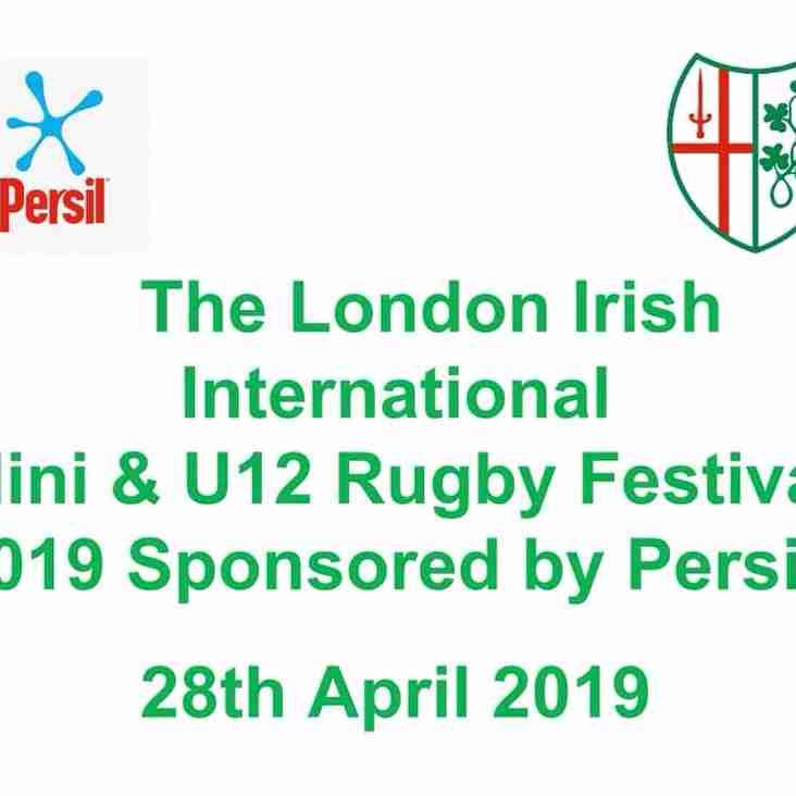 London Irish Amateur International Minis Fest
