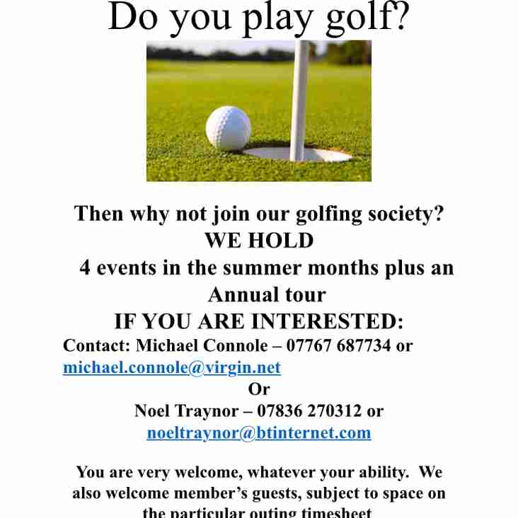 Do you play golf?