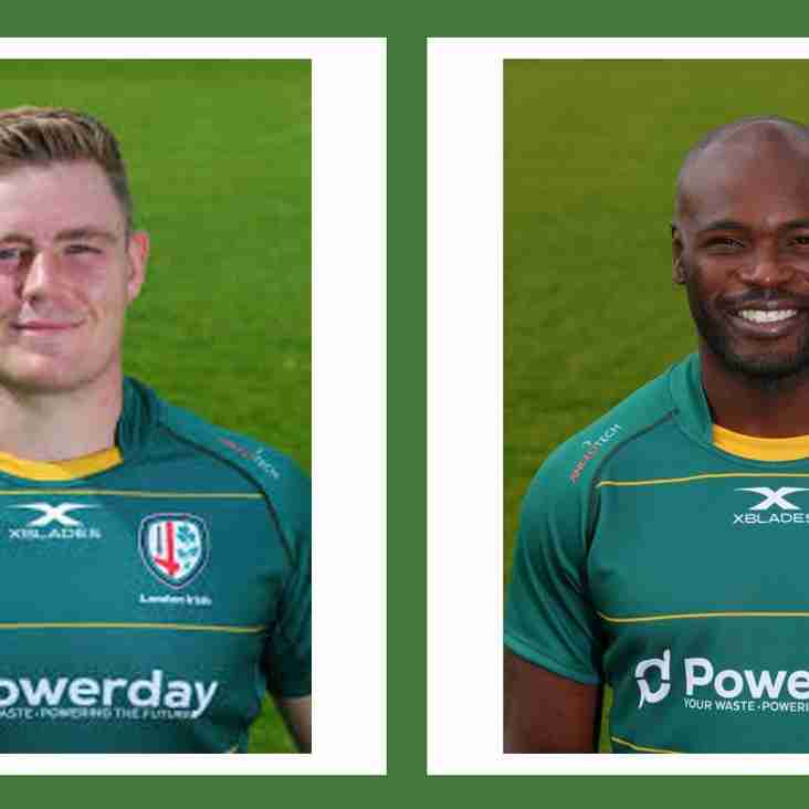 Hot of the Press.. London Irish Wild Geese are delighted to confirm ...