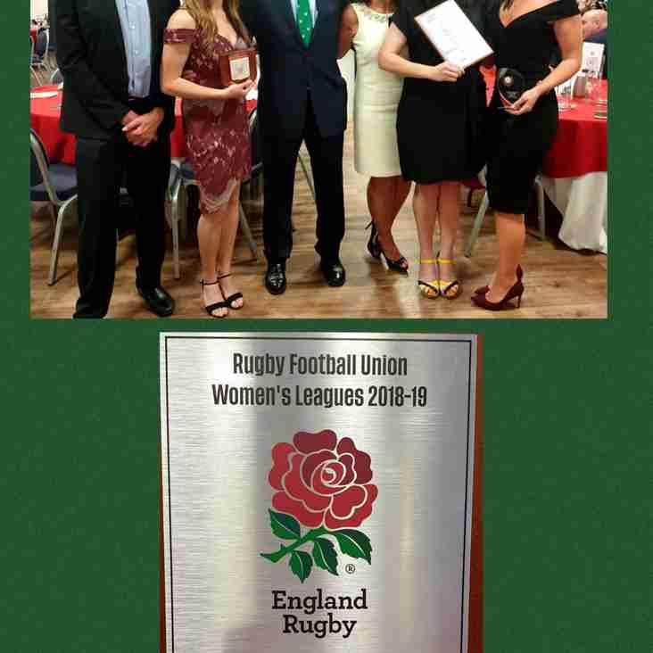 London Irish Ladies stars at Surrey Rugby Awards