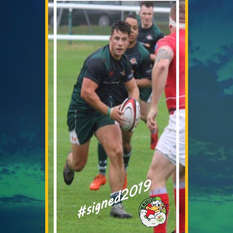 Centre Townshend added to Wild Geese squad.