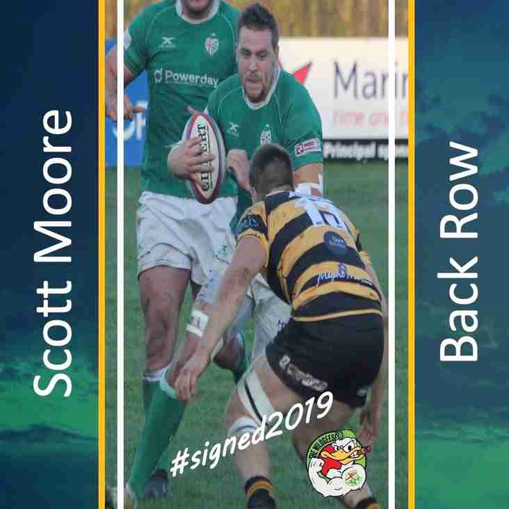 Scott Moore commits to Wild Geese for 2019/2020 season