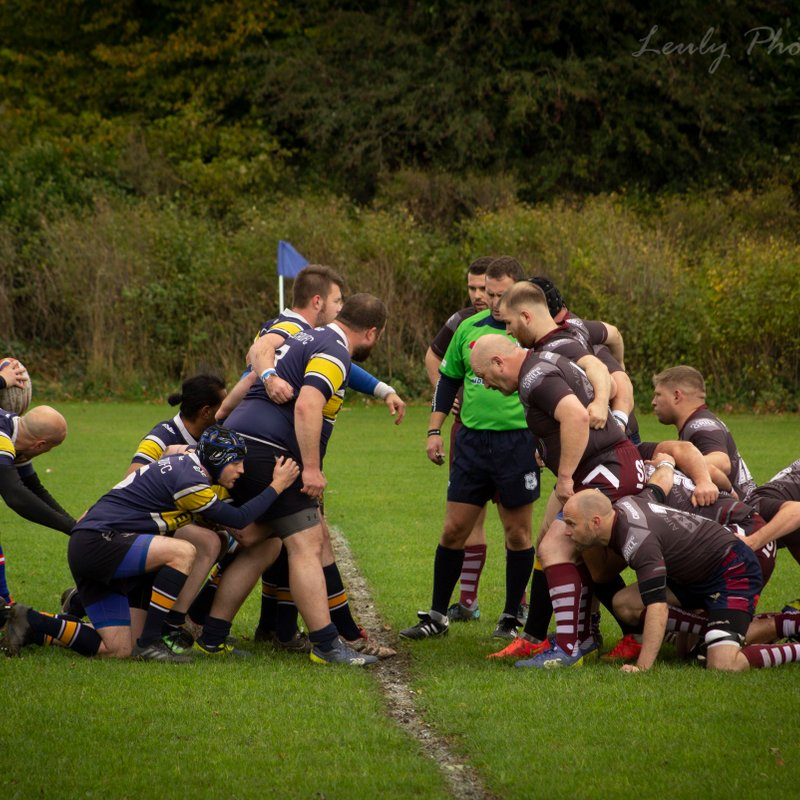 Old Brodleians 3s vs Aireborough Crusaders - 7-15