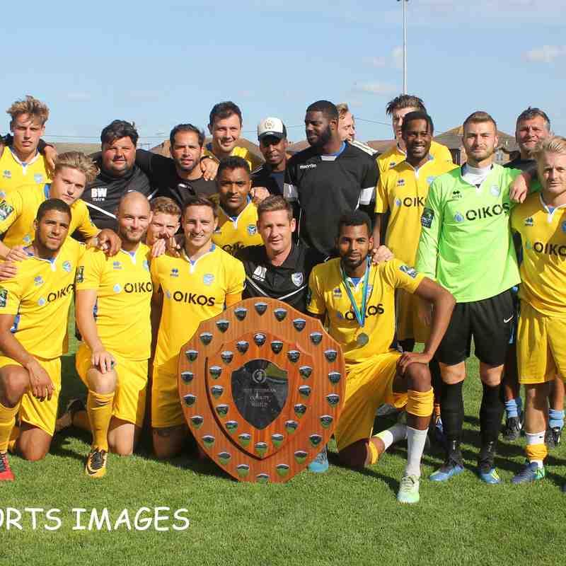 Canvey Island Vs AFC Hornchurch 28/07/2018
