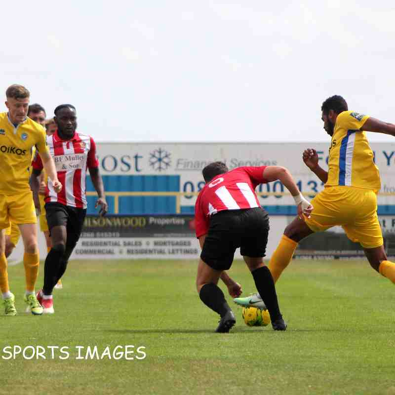 Canvey Island Vs AFC Hornchurch 28/07/2018