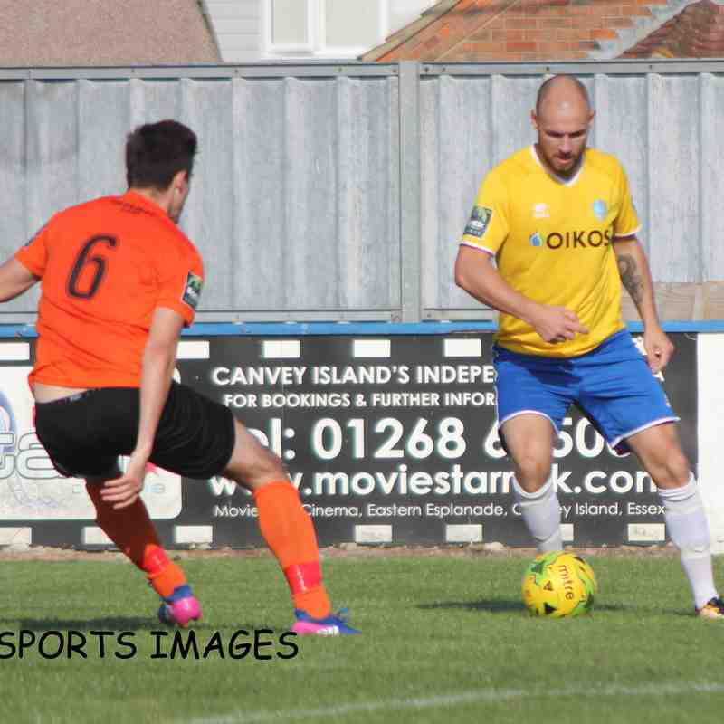 Canvey Island Vs Bury Town 01/09/2018