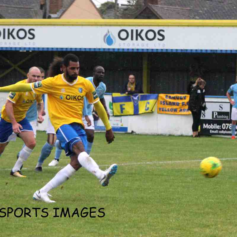 Canvey Island Vs Brentwood Town 22/09/2018