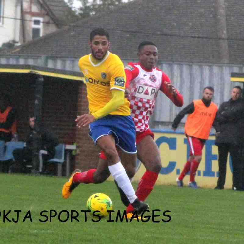 Canvey Island Vs Tilbury 06/10/2018