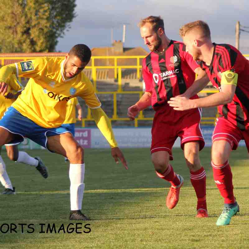 Canvey Island Vs Brightlingsea Regent 27/10/2018
