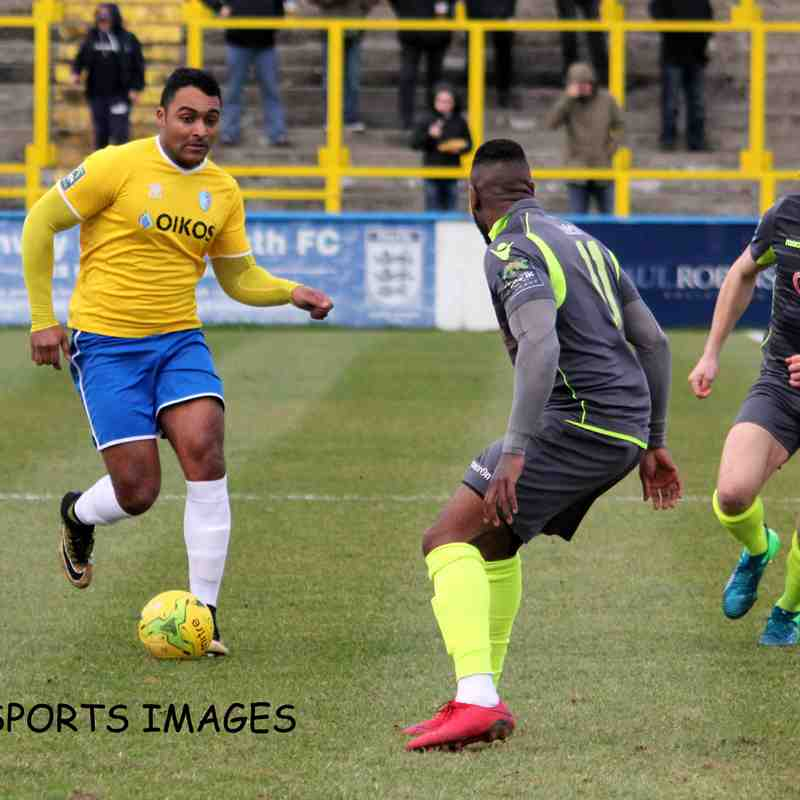 Canvey Island Vs Grays Athletic 26/01/2019