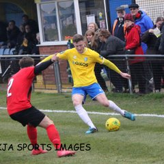 Canvey Island Vs Coggeshall Town 16/02/19