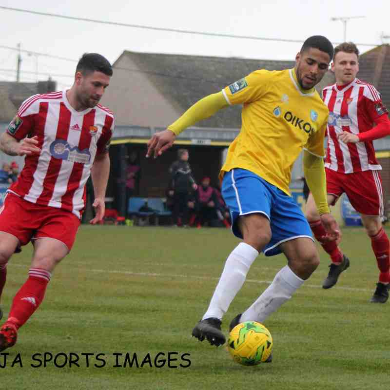 Canvey Island Vs Felixstowe & Walton United 06/04/2019