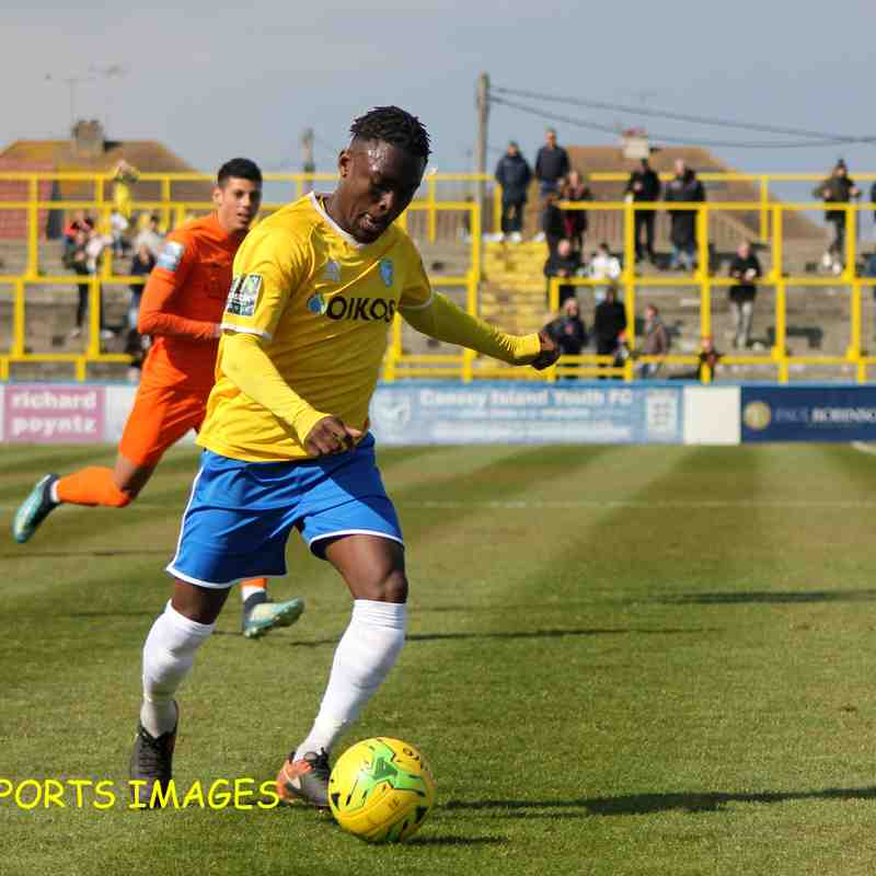 Canvey Island Vs Maldon & Tiptree 13/04/19