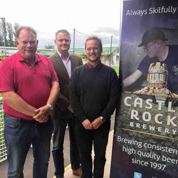 Basford United announce supply deal with Castle Rock Brewery
