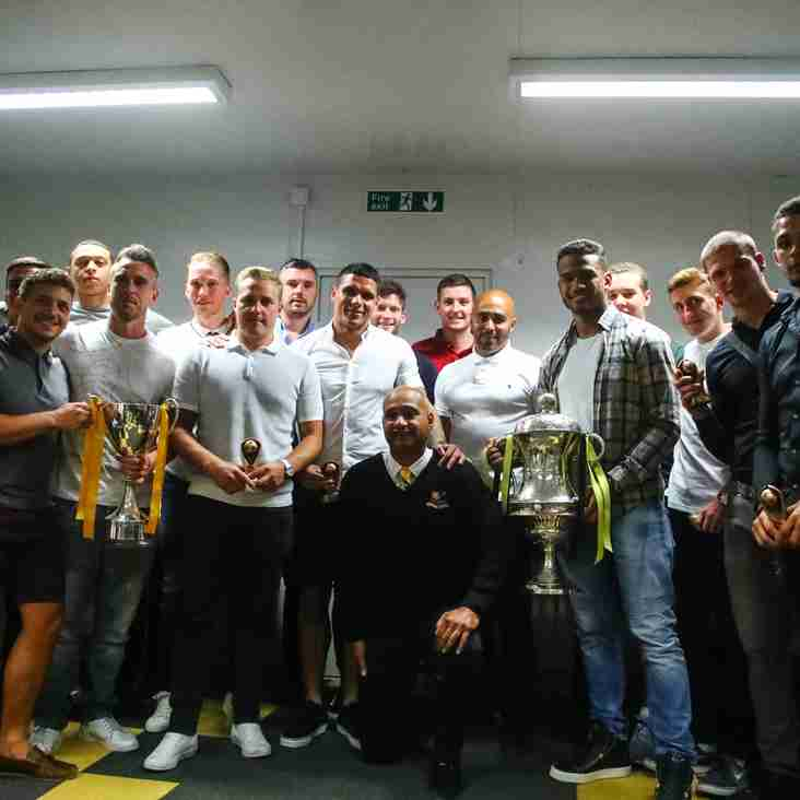 Celebration all-round with Basford United Club Awards