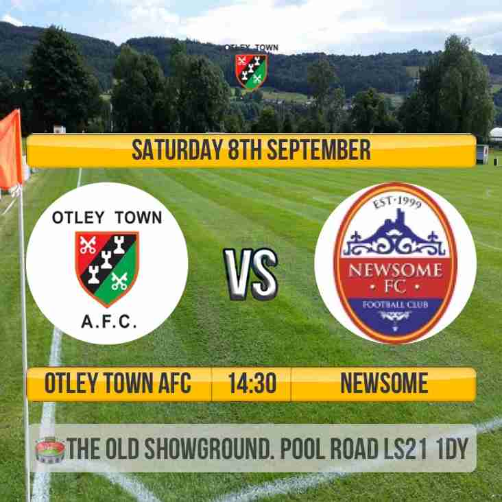 Firsts welcome Newsome to the Showground